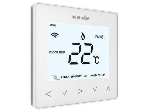 Heatmiser NeoAir Smart Thermostat - Glacier White