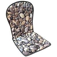 MR. COJIN Pack-2 Unidades COJIN Silla Jardin Respaldo MONOBLOC Piedras