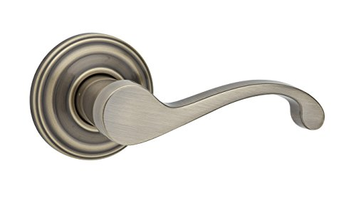 Kwikset Commonwealth Right-Handed Half-Dummy Lever in Antique Brass