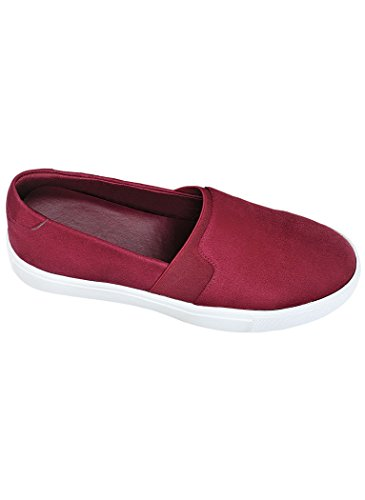 Angelsteps Womens Adult Angel Steps Ember Instapper Casual Burgundy