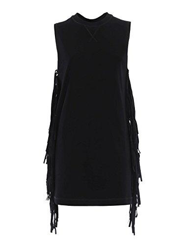 MCQ Alexander McQueen Women's 406415Rgh241000 Black Cotton Dress - Alexander Mcqueen Women Dresses