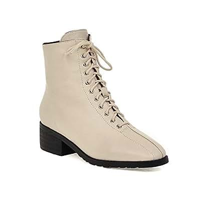 BalaMasa Womens ABS14161 Pu Boots