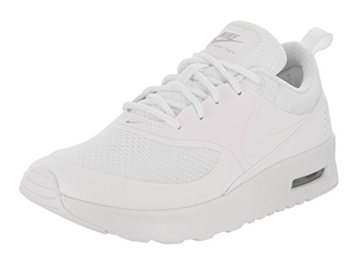Nike Air Max Thea (Ps), Zapatillas de Running Niñas Blanco (White / White-Metallic Silver)