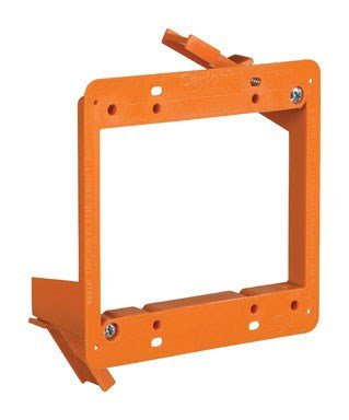 Thomas & Betts SC200RR 4'' 2 Gang Low Volt Backless Bracket by Thomas & Betts (Image #1)
