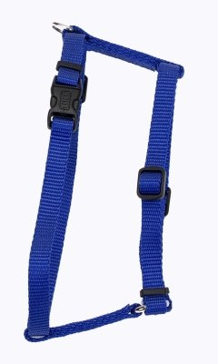 Coastal Pet Products DCP6443BLU Nylon Standard Adjustable Dog Harness, Small, Blue