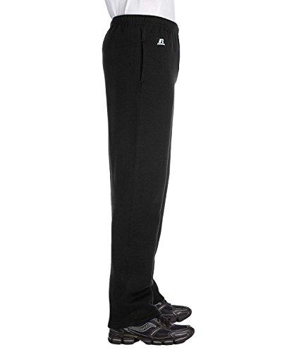 Russell Athletic Mens Dri-Power Open-Bottom Fleece Pocket Pa