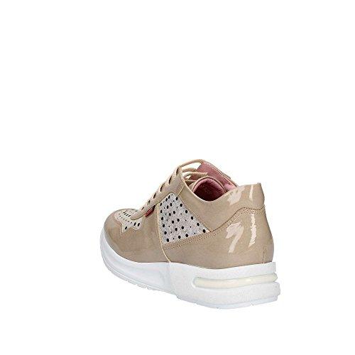 de Callaghan Zapatos con Las de Deporte Zapatillas de Cuña 92108 Bajos Los Beige Mujeres ww46tq