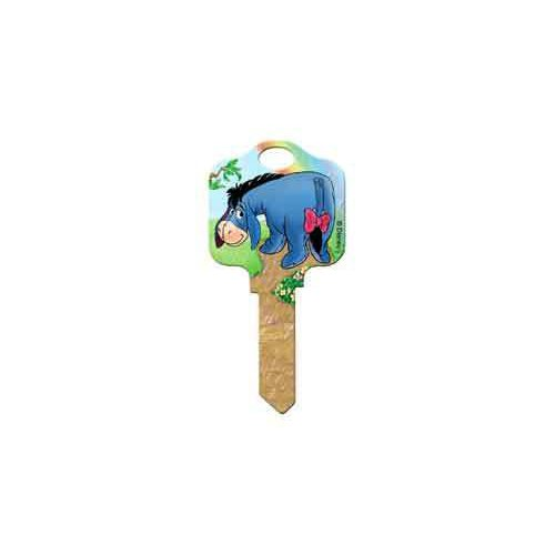 Disney Eeyore Kwikset KW1 House Key
