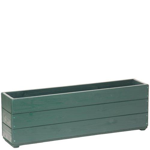 Welcome wood 深型スリムプランター90型 色はガーデングリーン(GG)  容量約34リットル B00F050VWW 90型サイズ|(GG)ガーデングリーン (GG)ガーデングリーン 90型サイズ