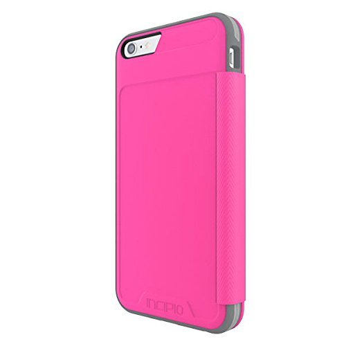 Incipio [Performance Series Level 3 Folio for iPhone 6 Plus / 6s Plus - Pink/Gray