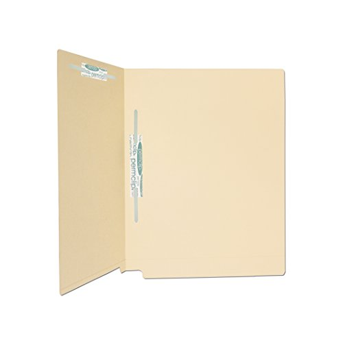 (Medical Arts Press Match 14pt Full Cut End Tab File Folders with 2 Permclip Fasteners in Position 3 and 5 (50/Box))