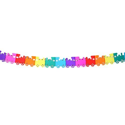 MagiDeal Colorful Garland Wedding Birthday