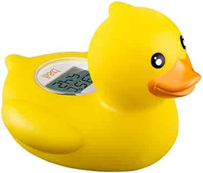 b&h Baby Thermometer, The Infant Baby Bath Floating Toy Safety Temperature Thermometer (Duck) (Duck)