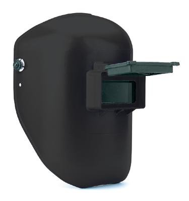 Black Thermoplastic Tigerhood 2' X 4 1/4' Lift Front Welding Helmet With P-241H Shade 10, P-242 Filters And 3-C Headgear