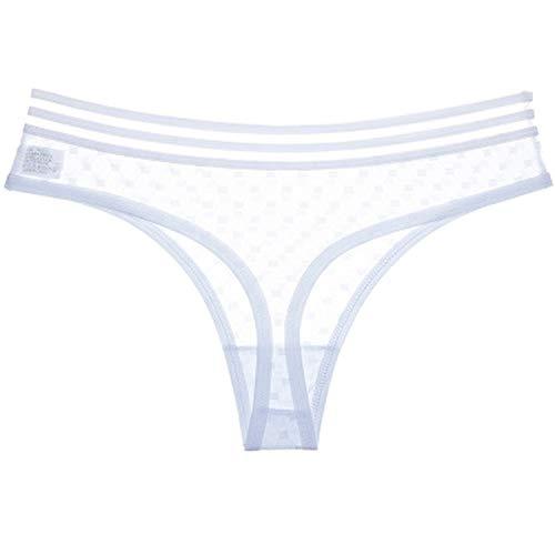 Wild Little Cat Thong Sexy Panties Women Ice Silk Seamless Panties G String Femme Low Rise Thongs Underwear Women Majtki Damskie ()