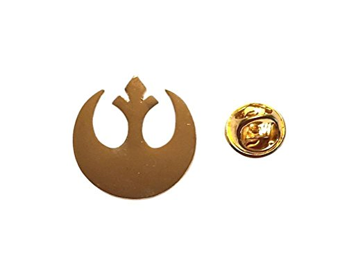(Peaceomind Star Wars Rebel Alliance Gold Color Symbol Metal Cosplay)