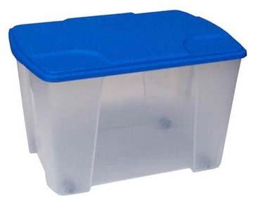 Erstaunlich Amazon.de: Aufbewahrungsbox, Rollbox aus Kunststoff HW32