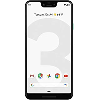 Google Pixel 3 XL 128GB Unlocked GSM & CDMA 4G LTE Android Phone w/ 12.2MP Rear & Dual 8MP Front Camera - Clearly White (Renewed)