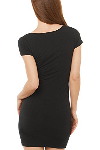 Frauen einfach kleine schwarze Minikleid