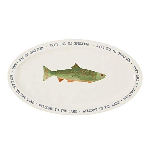 Mud Pie Welcome to the Lake Fish Platter
