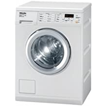 Miele White European Standard Capacity Front Loading Washer