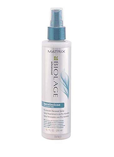 (BIOLAGE Advanced Keratindose Pro-Keratin Renewal Spray For Overprocessed Damaged Hair, 6.7 Fl Oz)
