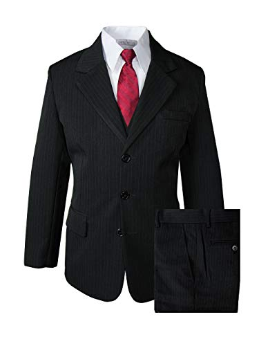 Spring Notion Big Boys' Pinstripe Suit Set