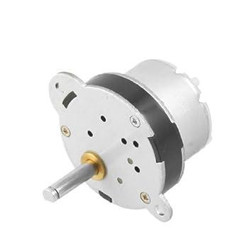 DealMux 32 milímetros de diâmetro Gearbox 60rpm 50MA 6V DC velocidade Reduzir motor engrenado