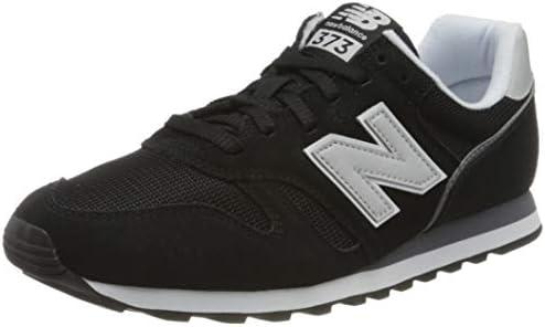 New Balance Men's 373 Core Low-Top Sneakers, Black (Black/White ...