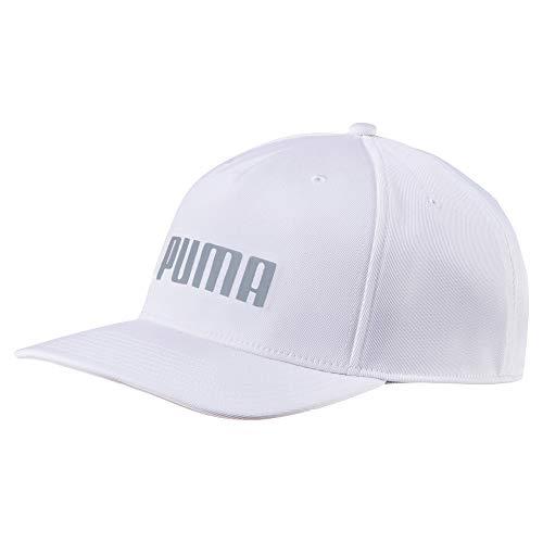 Puma Golf 2018 Men's Go Time Flex Snapback Hat (Bright White, One Size)