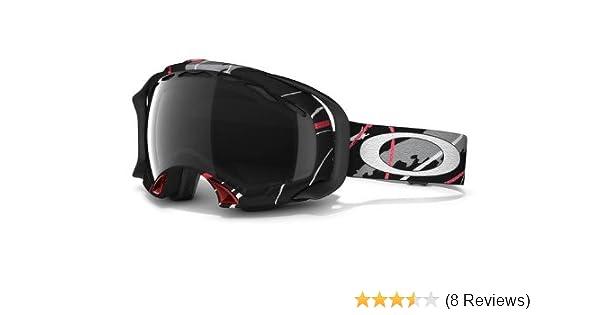 c5c186c2120b Amazon.com   Oakley Simon Dumont Splice Snow Goggles (Black Frame Grey Polarized  Lens)   Ski Goggles   Sports   Outdoors