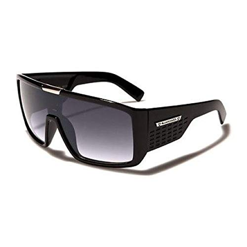 le Mens Designer Sunglasses Metal Detail on Center ()