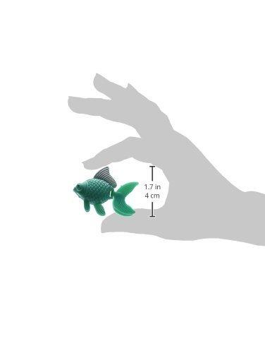 Amazon.com: eDealMax DE 5 piezas del tanque del acuario se sacuden cola de pez Tropical ornamento, Verde: Pet Supplies