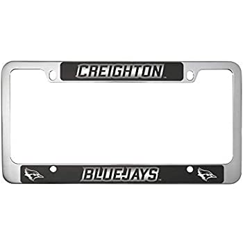 GMC Pink Logo Black Metal License Plate Frame