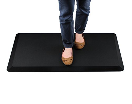 AFS-TEX System 3000, Anti-Fatigue Mat, Designed for Standing Desk Use, Carbon Black, 20'' x 39'' (FC35199ABM) by Floortex (Image #3)