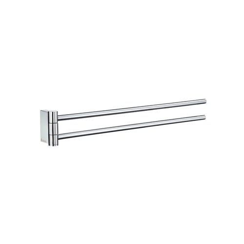 Smedbo AK326 Air Collection Towel Rail Swing-Arm, Polished Chrome