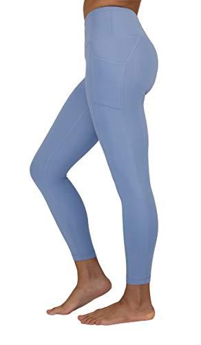 e96ad1eae08c62 Women 90 Degree By Reflex High Waist Tummy Control Interlink Squat Proof  Ankle Length Leggings Sports ...