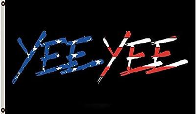 Astany YEE YEE American Flag 3X5FT Banner