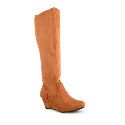 Footwear Sensation - Botas para mujer Beige - marrón (Tan Suede)
