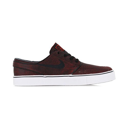 Nike Zoom Stefan Janoski Challenge Red / Black / Black Skate Shoes-Men 9.0, Women