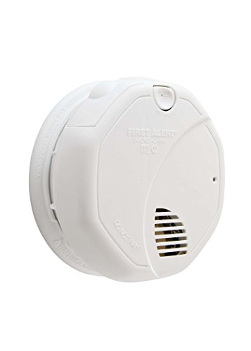 First Alert SA320CN Dual-Sensor Smoke and Fire Alarm, Battery Powered- Frust Free