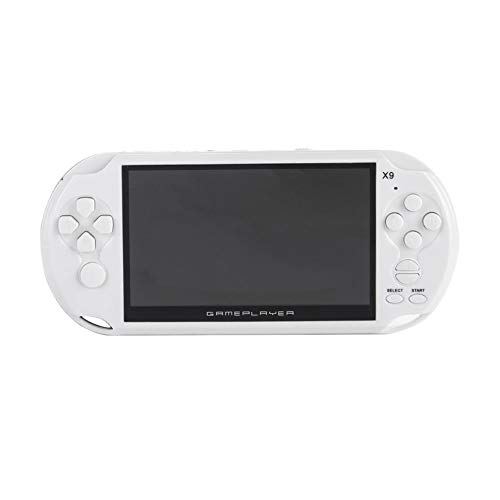 Portable Size 5.0 Inch Large Screen 8GB Game Console Handheld Game Player MP3 Player Gamepad With Classic Games by SeniorMar (Image #9)