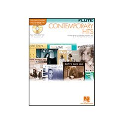 Hal Leonard Contemporary Hits Instrumental Play Along Pack Book and CD (Flute)