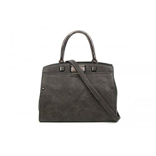pour Elegant Gris Cabas Fashions femme qEwOnE6