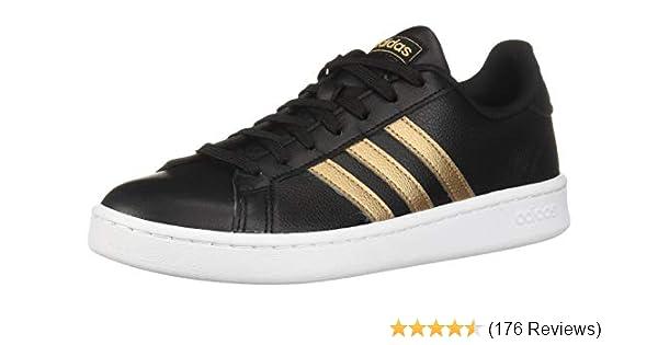 43897e989a19 Amazon.com | adidas Women's Grand Court Sneaker | Fashion Sneakers