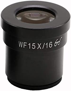 WF15X//16MM Super Field of View High Eye-Point Eyepiece Mounting Size 30mm Microscope Eyepiece for Stereo Microscopes Color:1PC Without Reticle Mercury/_Group
