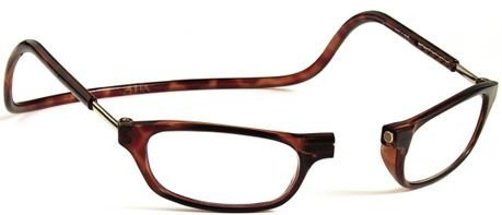 Clic Magnetic Reading Glasses in Tortoise  1.75