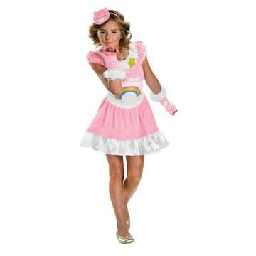 Cheer Bear Costume - X-Large (Adult Cheer Bear Dress)