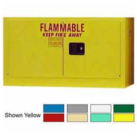 18-Gallon Self-Close, Stackable Flammable Cabinet Ag ()