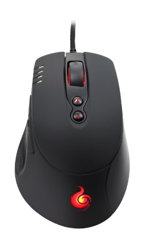 CM Storm Havoc - Ergonomic MMO Gaming Mouse with Storm Multiplier Key for 16-Button Output ()